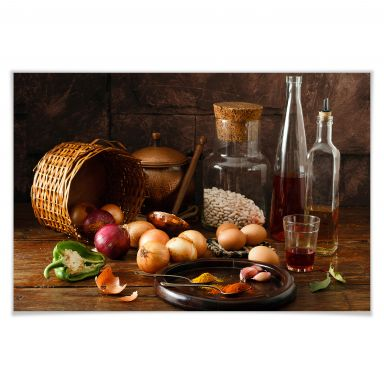 Poster Laercio - Ungarische Küche