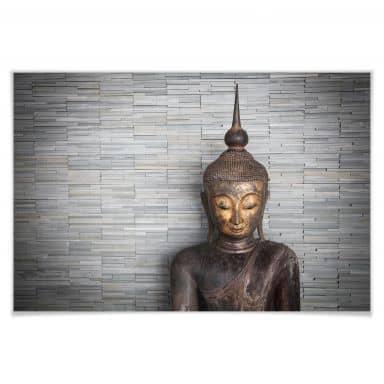 Poster Thailand Boeddha