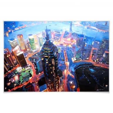 Poster Bleichner - Shanghai