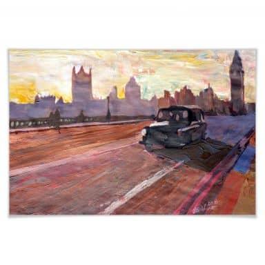 Poster - Bleichner - London au crépuscule
