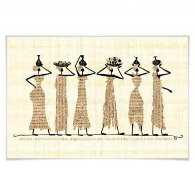 Poster Ägyptische Frauen