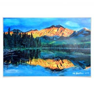 Poster Bleichner - Kanada - Der Jasper Nationalpar