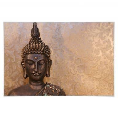 Poster Buddha der Weise