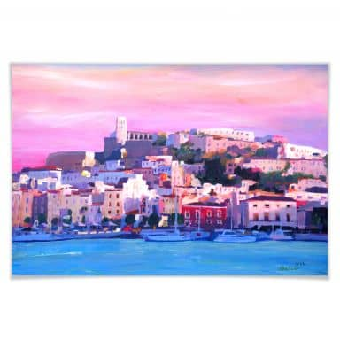 Poster Bleichner - Ibiza - The Pearl of the Medite