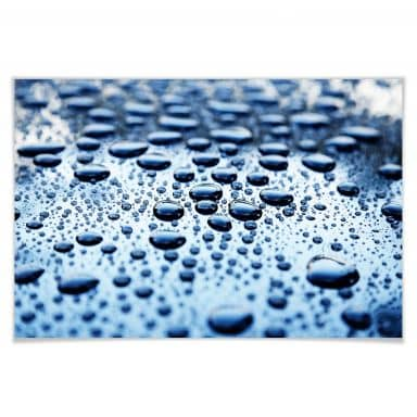 Poster Waterdrops