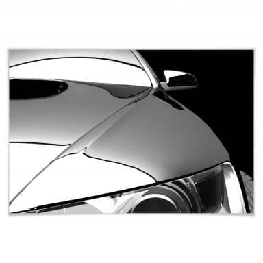 Poster Metallic Car