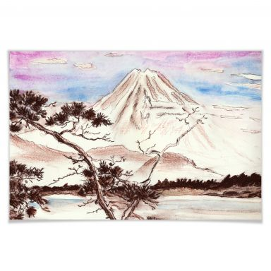 Poster Toetzke - Asian Landscape