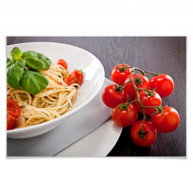 Poster Italian Pasta