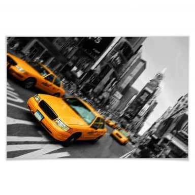 Poster New York Taxi