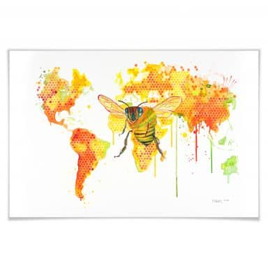 Poster Buttafly - Bees World