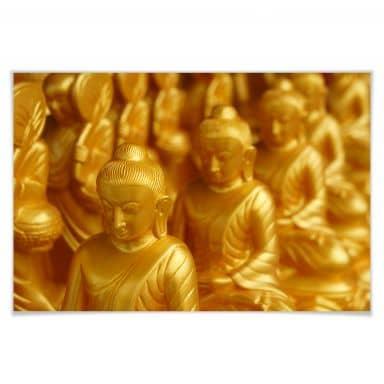 Poster Golden Buddha