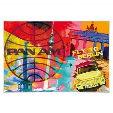 Poster PAN AM - Berlin