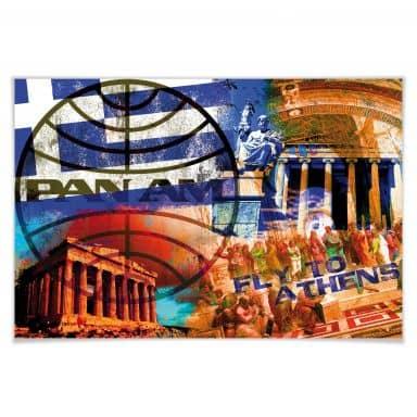 Poster PAN AM - Athens