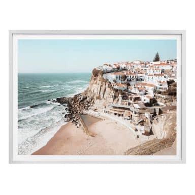 Poster Colombo - Mediterrane Stadt - Quer
