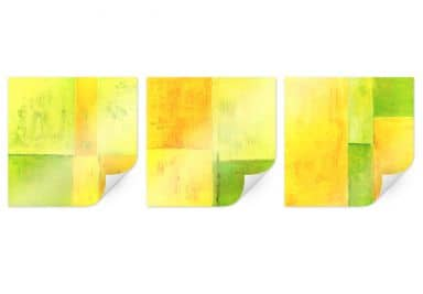 Poster Schüßler - Spring Composition - quadratis