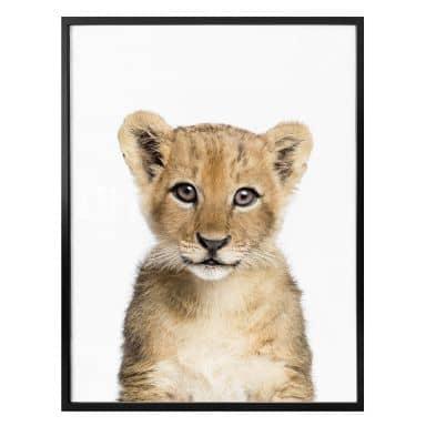 Poster Sisi & Seb - Baby Löwe