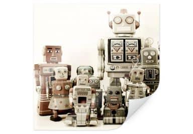 Poster Versammlung der Roboter