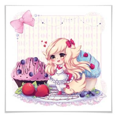 Poster La Doll Blanche – Chibi Belle