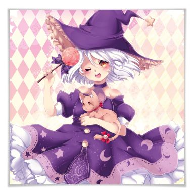 Poster La Doll Blanche – Little Witch
