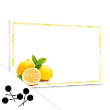 Lemons Bulletin Board