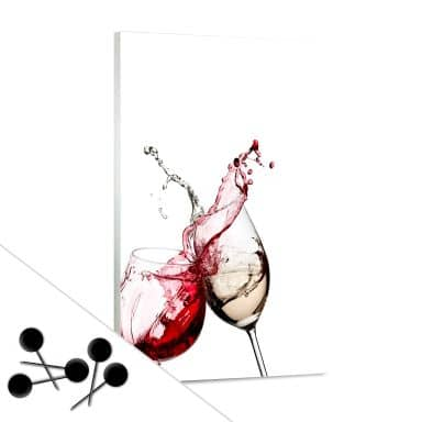 Wine Glasses Bulletin Board
