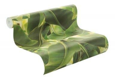 Rasch Mustertapete Vliestapete African Queen II Bananenpflanze grün