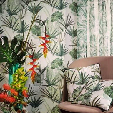 Rasch Vliestapete Barbara Home Collection II grün