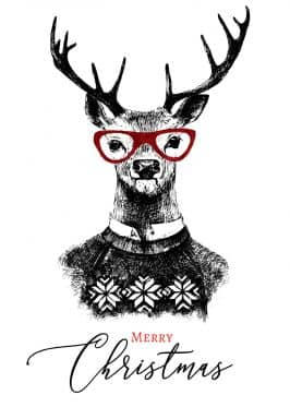 Gift Certificate Christmas - Reindeer