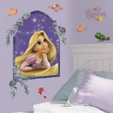 Wandsticker Disney Rapunzel Set