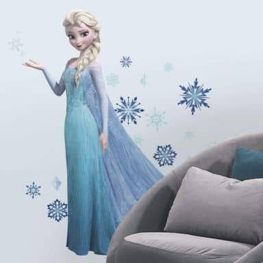 Sticker mural - La Reine des Neiges- Sticker maxi Elsa