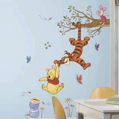 Winnie Puuh Shop: Wandsticker, Tapeten & mehr | Winnie Puuh | wall ...