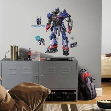 Wandsticker Transformers Optimus Prime