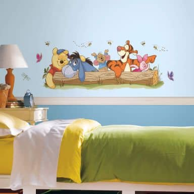 Sticker mural - Winnie l'ourson - Outdoor Fun