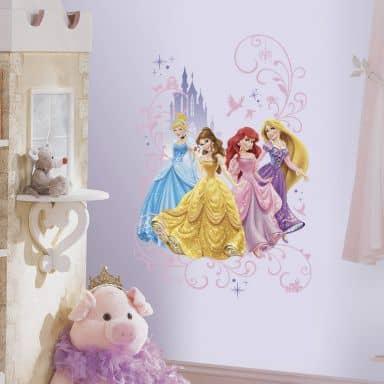 Sticker murale - Principesse Disney Maxi sticker
