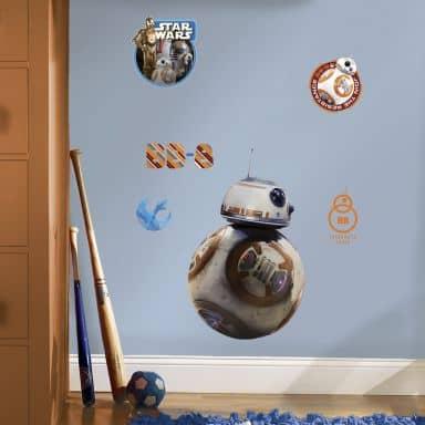 Sticker mural - Star Wars - Le Réveil de la Force : BB-8