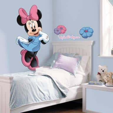 Wandsticker Minnie Mouse & ihre Freunde - Maxi Sticker