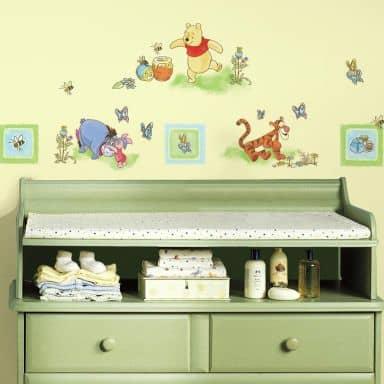 Adesivo – Winnie the Pooh - nursery
