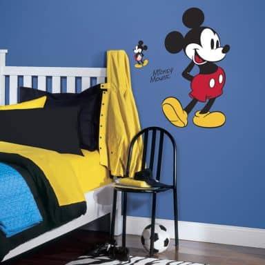 Muursticker Disney Mickey Mouse XXL