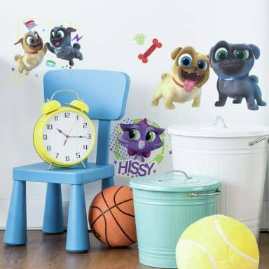 Wandsticker-Set Disney Puppy Dog Pals (Welpen Freunde)