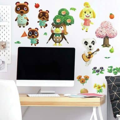 Wandsticker Nintendo Animal Crossing