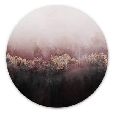 Wandcirkel Fredriksson - Pink Sky