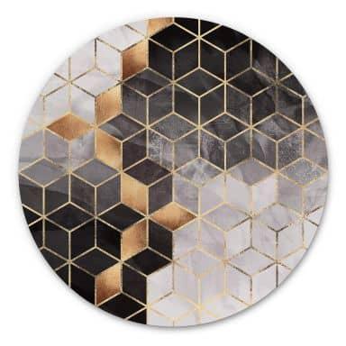 Wandcirkel Fredriksson - Smoky Cubes