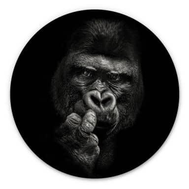 Wandcirkel Meerman - Gorilla