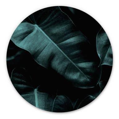 Wandcirkel Kubistika - Jungle