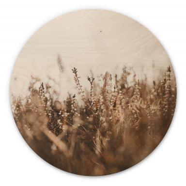 Wandcirkel Hout Annie - Meadow Grass