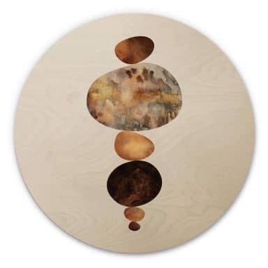 Holzbild Fredriksson - Balance - Rund