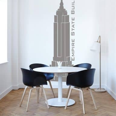 Wandtattoo Empire State Building