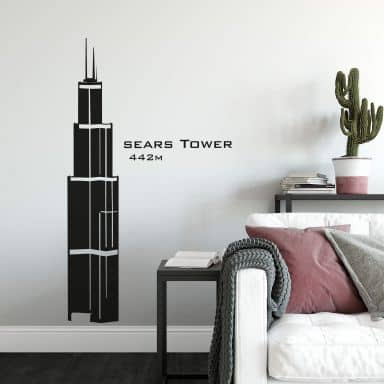 Wandtattoo Sears Tower