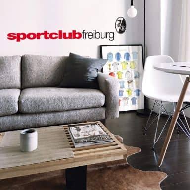Wandtattoo SC Freiburg Sportclub