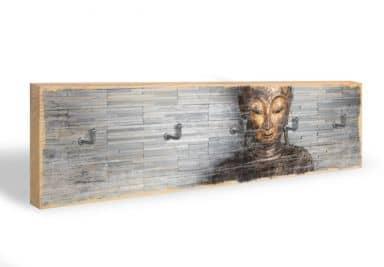 Key Holder - Thailand Buddha + 5 Hooks
